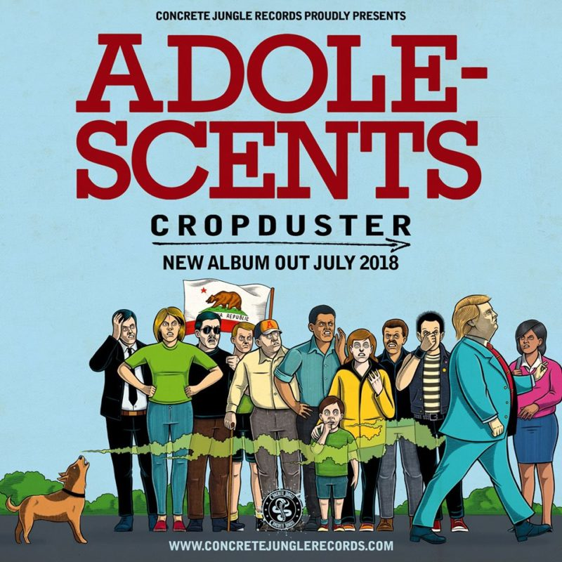 Adolescents – Cropduster Review 1